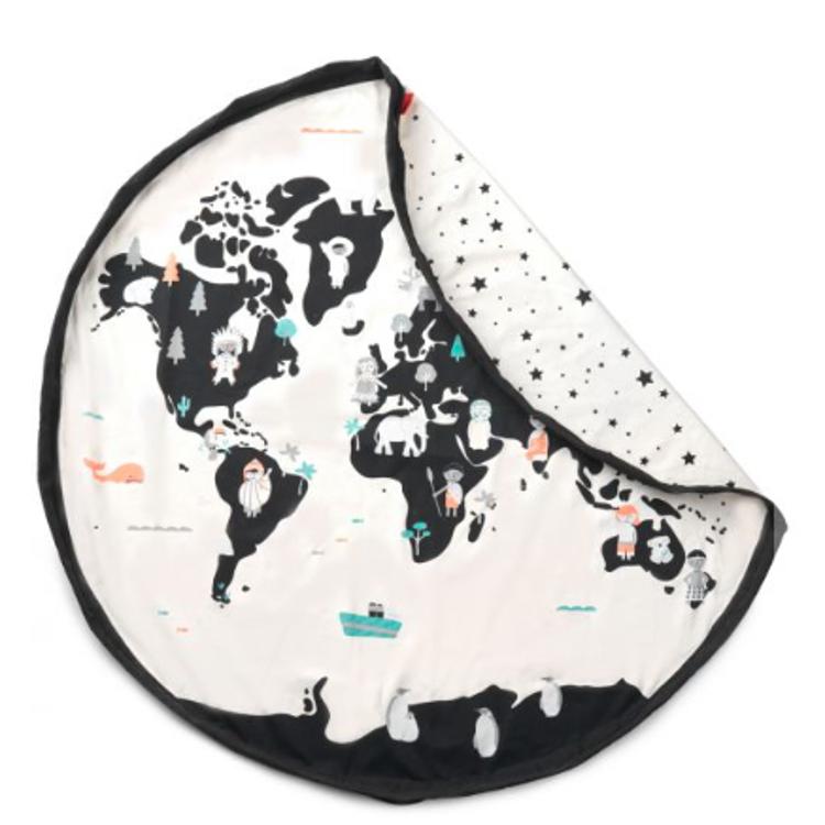 Afbeeldingen van Play & Go Opbergzak Worldmap