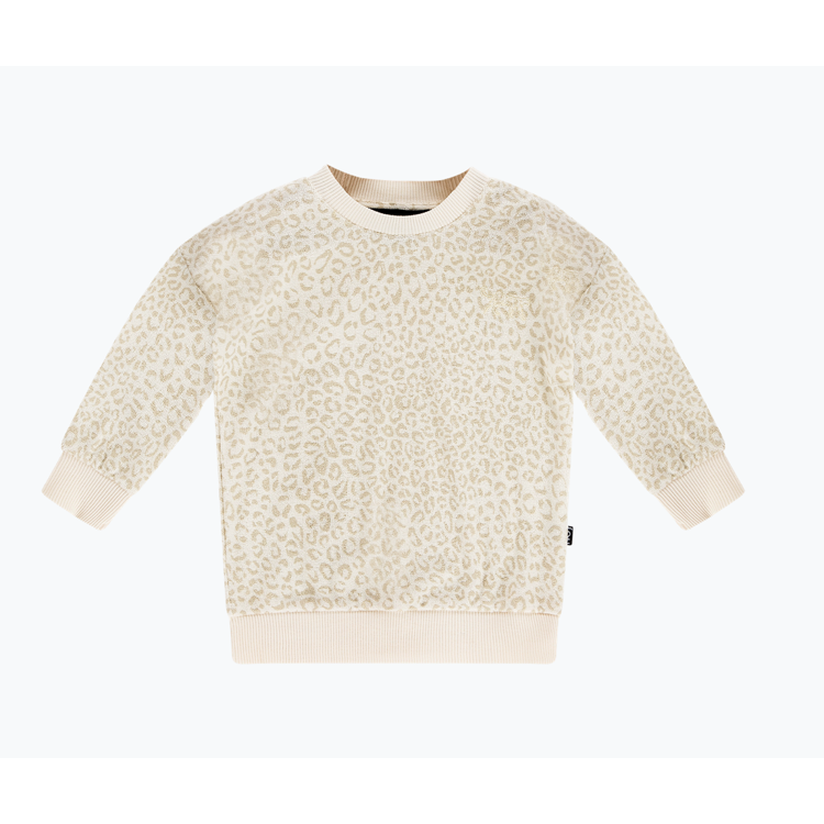 Afbeeldingen van House of Jamie Sweater Cream Leopard