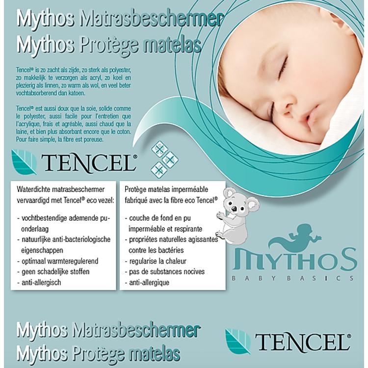 Afbeeldingen van Mythos Matrasbeschermer 40x90