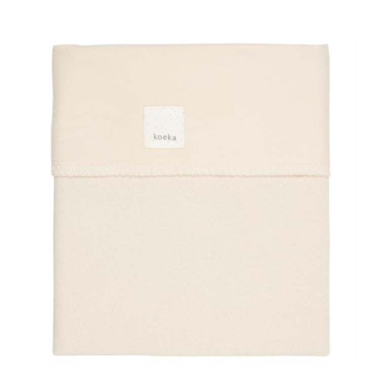 Afbeeldingen van Koeka Deken 80x100 cm Runa Warm White