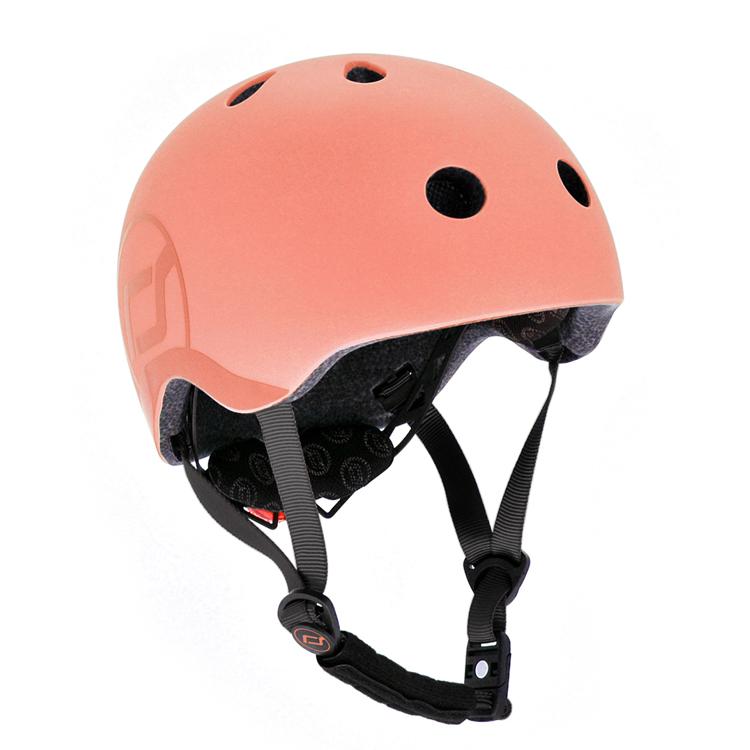 Afbeeldingen van Scoot and Ride Helm Small Peach