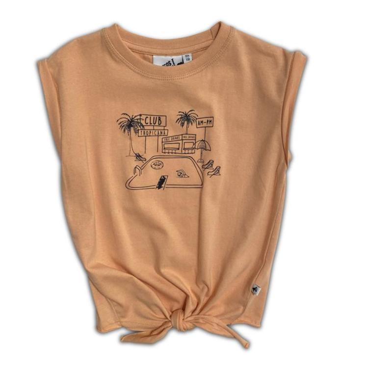 Afbeeldingen van Cos I Said So T shirt Club tropicana knot oranje
