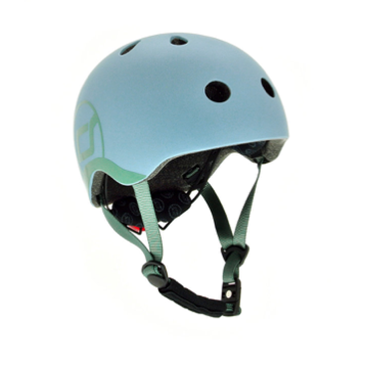 Afbeeldingen van Scoot and Ride Helm XS Steel