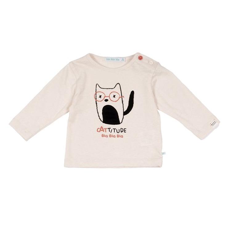 Afbeeldingen van Blablabla T shirt cat