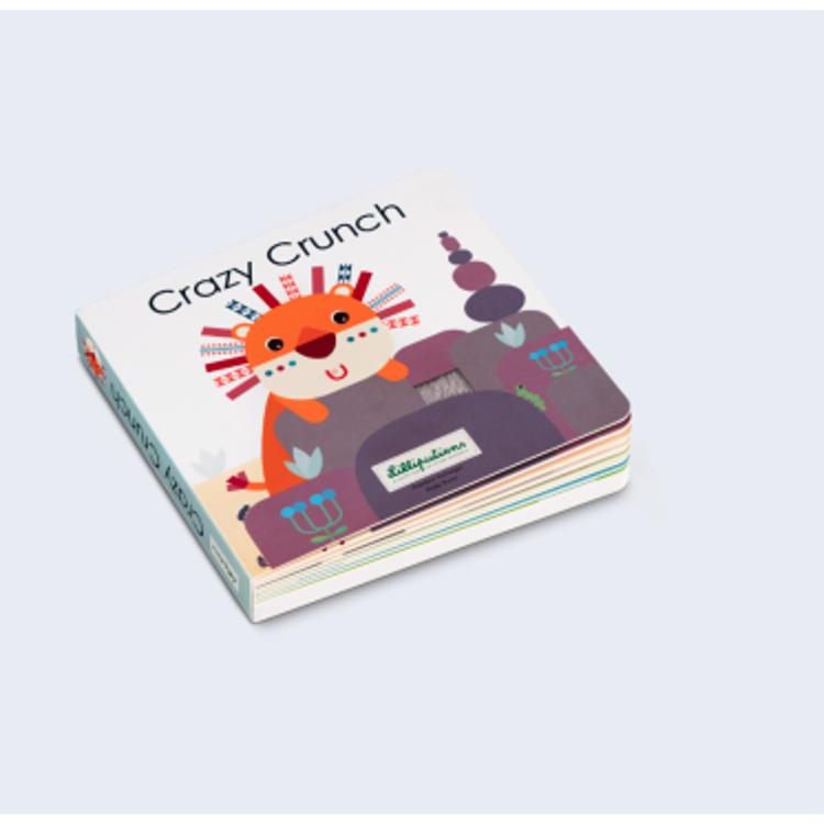 Afbeeldingen van Lilliputiens Voelboek met geluiden  Crazy Crunch