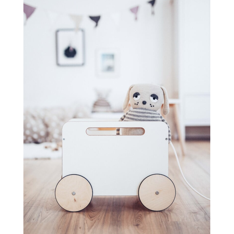 Afbeeldingen van Ooh Noo Speelgoedbak wit