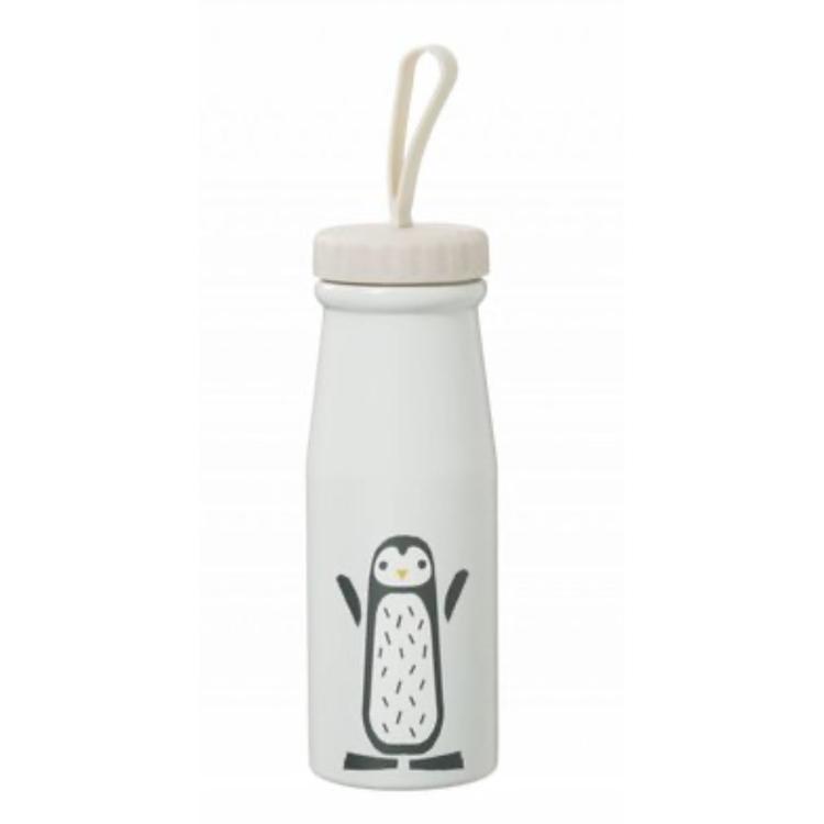 Afbeeldingen van Fresk Thermosfles Wit Pinguin