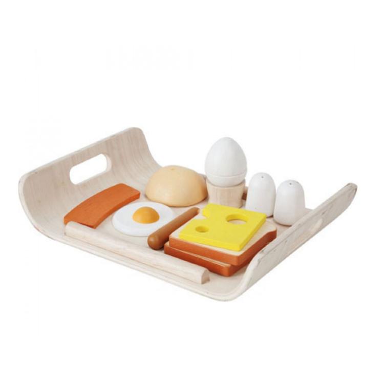 Afbeeldingen van Plan Toys Ontbijtset