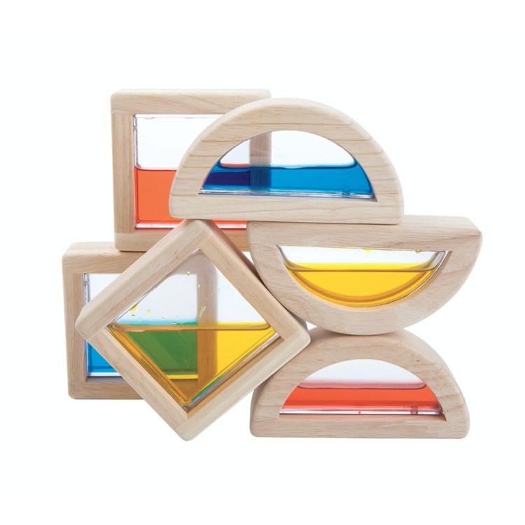 Afbeeldingen van Plan Toys Water blokken