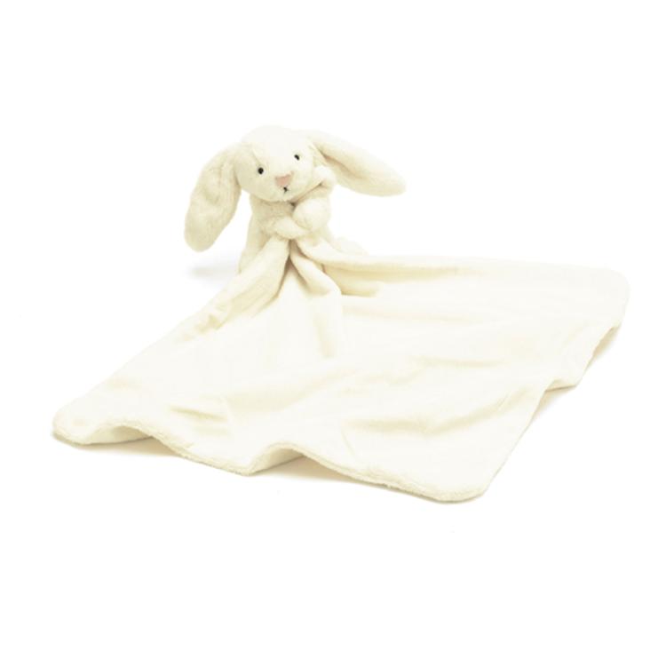 Afbeeldingen van Jellycat Knuffeldoekje Bunny cream