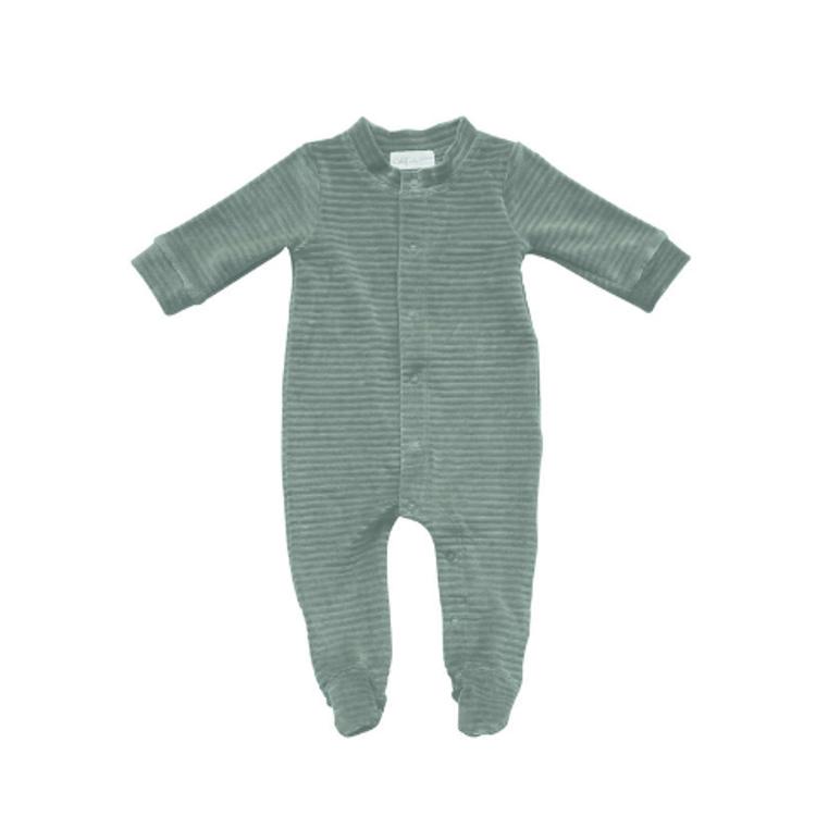 Afbeeldingen van Witlof for kids Pyjama corduroy Sage green