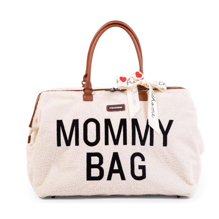 Afbeeldingen van Childhome Mommy Bag Teddy ecru