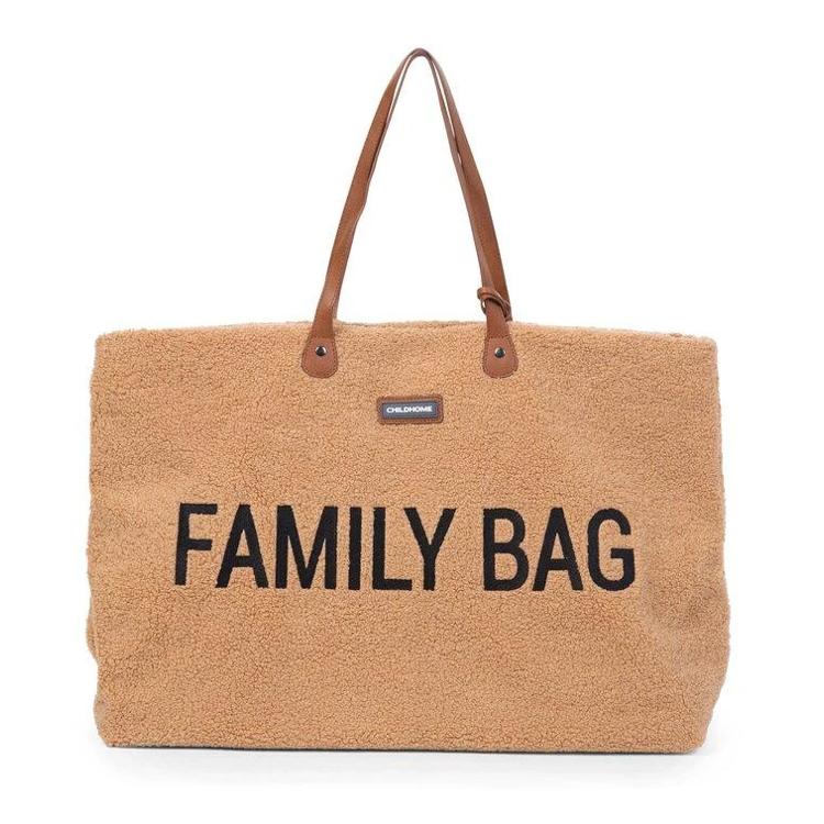 Afbeeldingen van Childhome Familybag teddy bruin