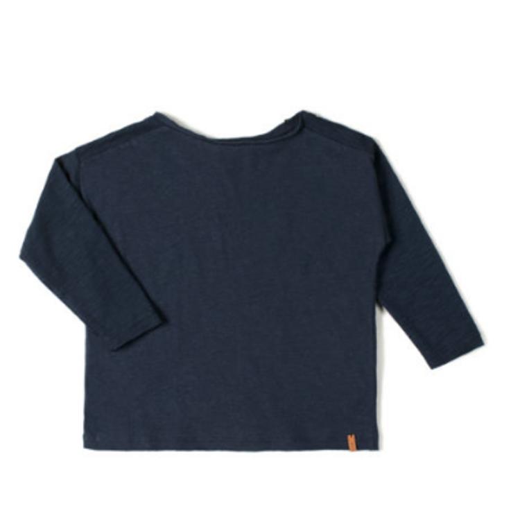 Afbeeldingen van Nixnut T shirt lange mouw night blue