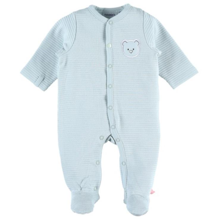 Afbeeldingen van Noukies Pyjama Katoen effen mint