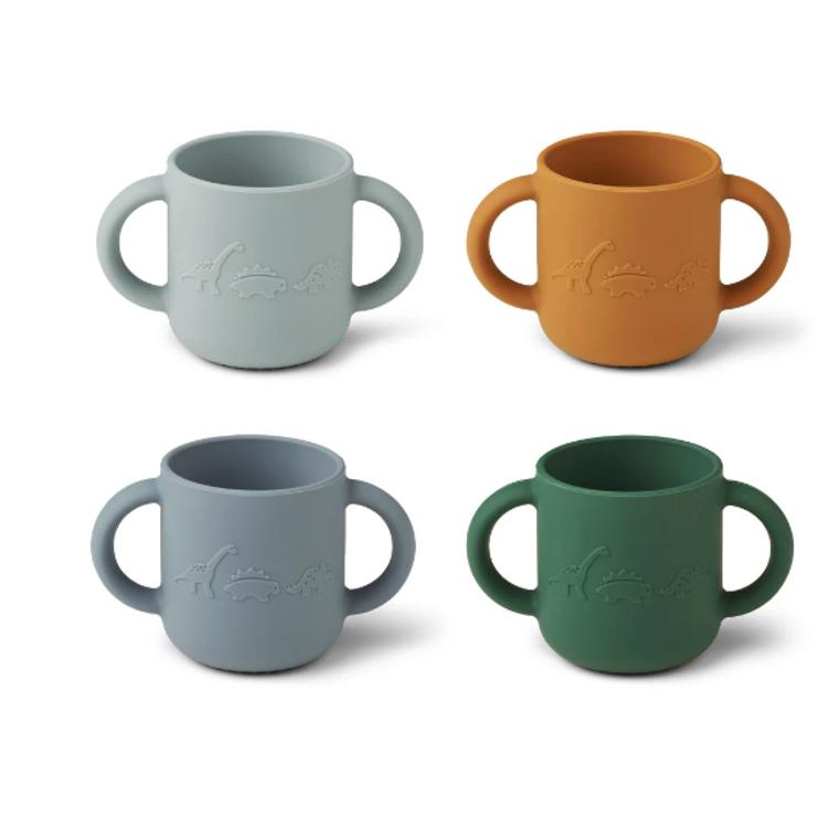 Afbeeldingen van Liewood Set cups Dino