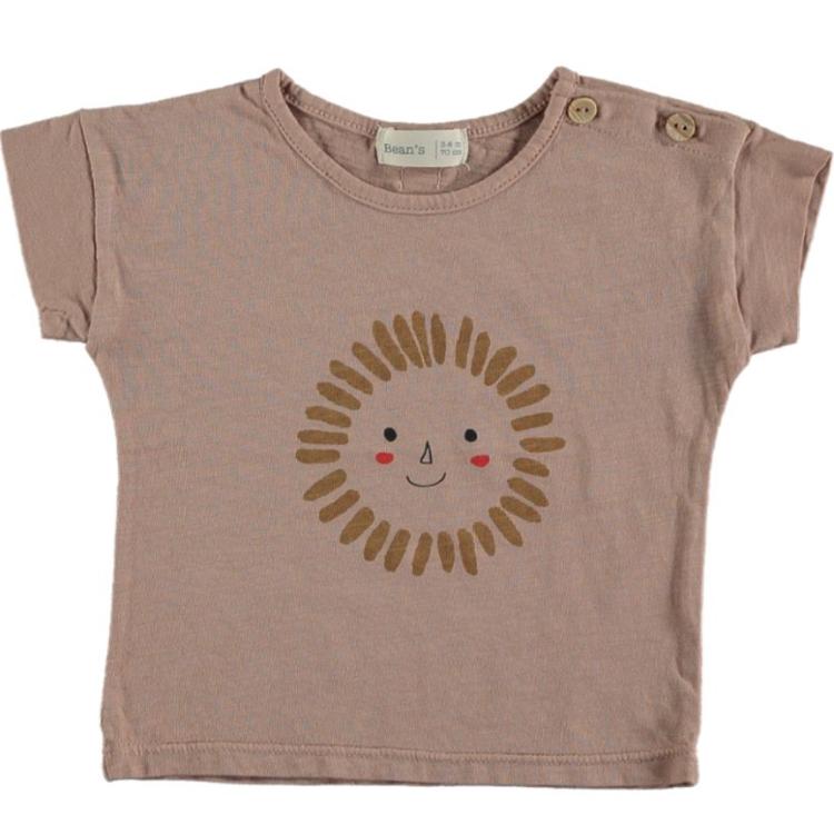 Afbeeldingen van Bean's T shirt zon roze