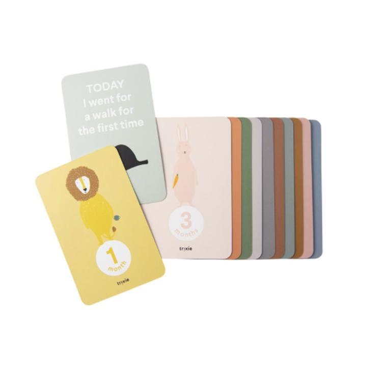 Afbeeldingen van Trixie milestone cards