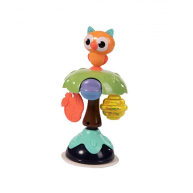 Afbeeldingen van Bo Jungle Speelgoed met zuignap uil