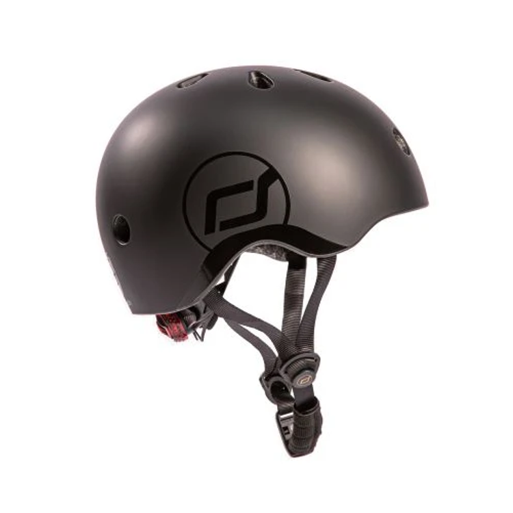 Afbeeldingen van Scoot and Ride Helm small zwart