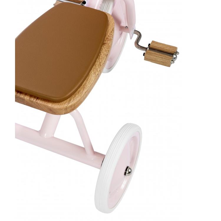 Afbeeldingen van Banwood Trike Loopfiets met pedalen pink