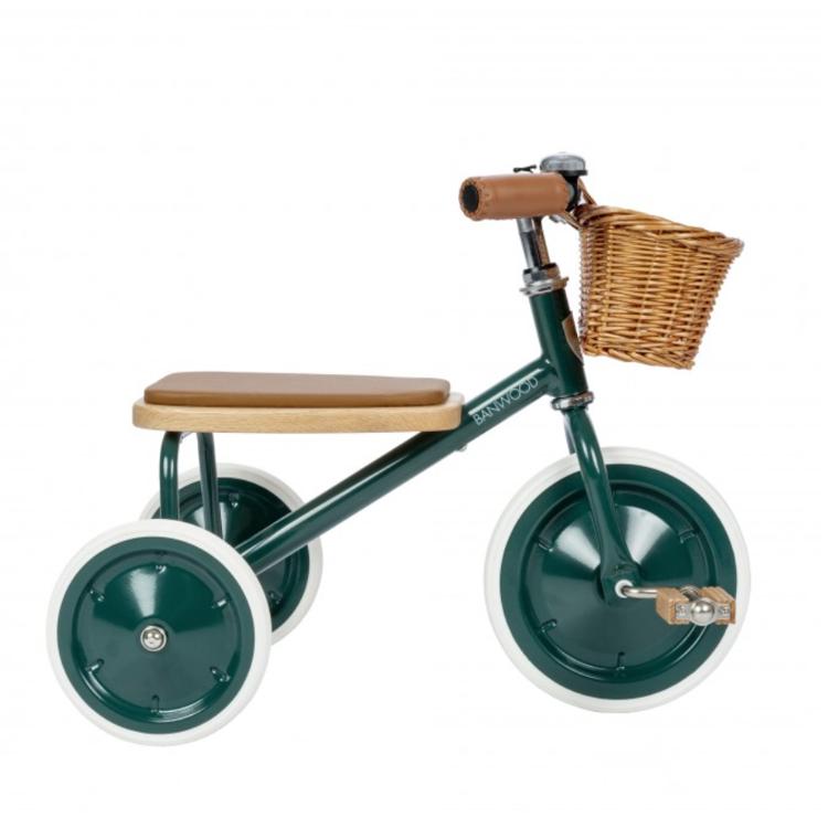 Afbeeldingen van Banwood Loopfiets met pedalen groen