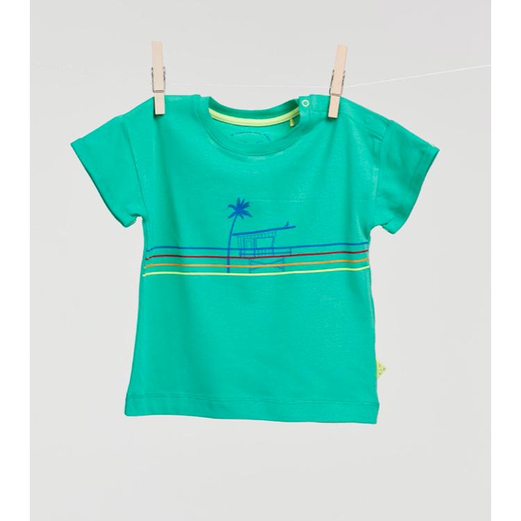 Afbeeldingen van Billie-Ray X Woody T shirt groen