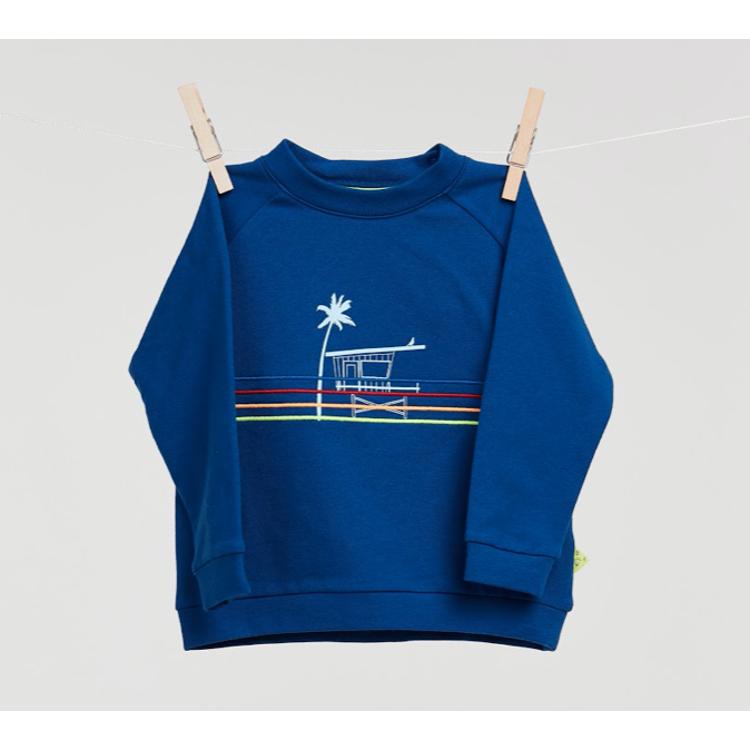 Afbeeldingen van Billie-Ray X Woody Sweater blauw