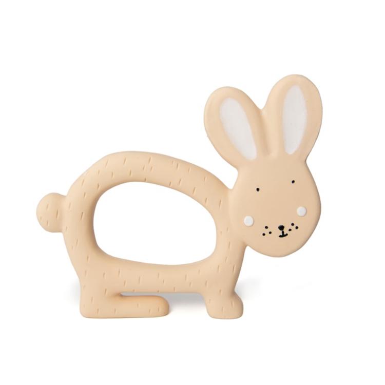 Afbeeldingen van Trixie Bijtring Rubber konijn