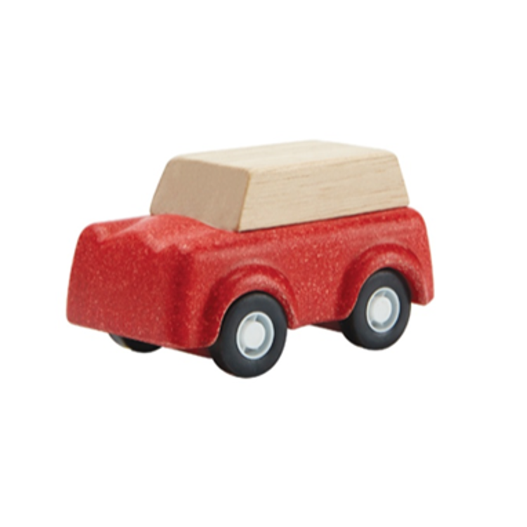 Afbeeldingen van Plan Toys Red SUV