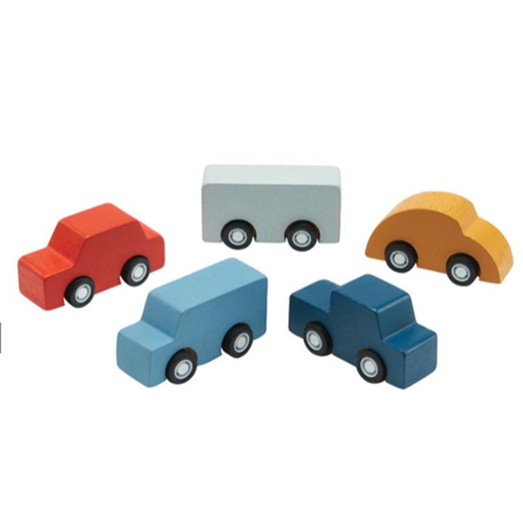 Afbeeldingen van Plan Toys Set Mini cars