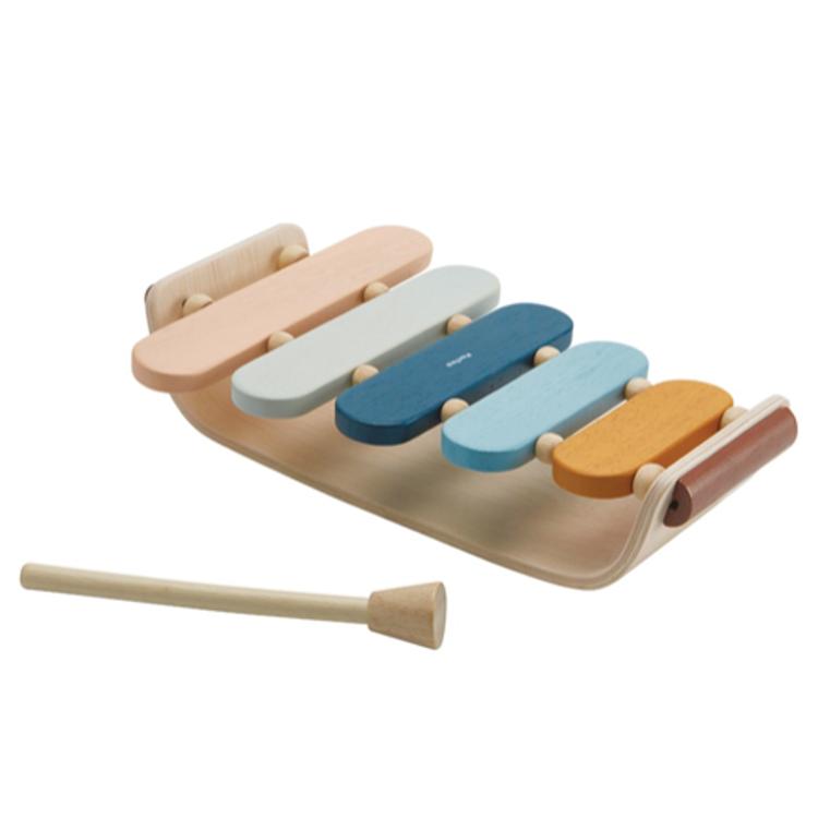 Afbeeldingen van Plan Toys Xylophone pastel