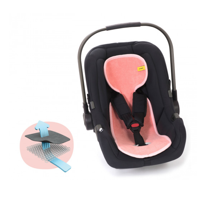 Afbeeldingen van Aeromoov Air Layer Autostoel groep 0 roze