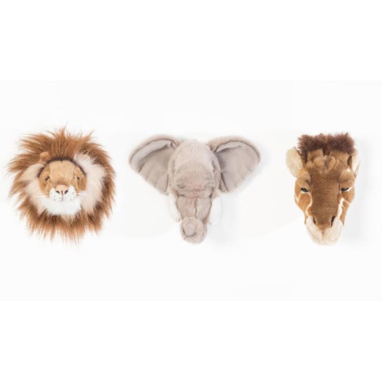 Afbeeldingen van Wild & Soft Box van 3 diertjes Safari