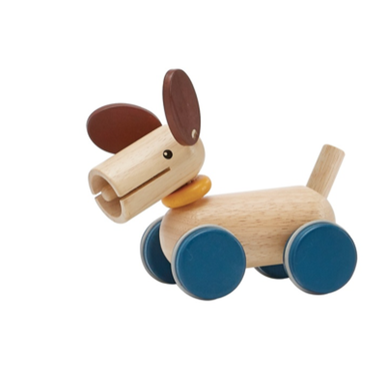 Afbeeldingen van Plan Toys Push & Pull Puppy