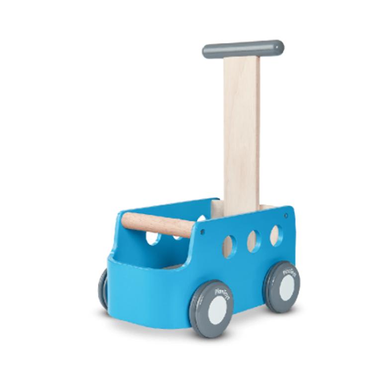 Afbeeldingen van Plan Toys Van walker blauw