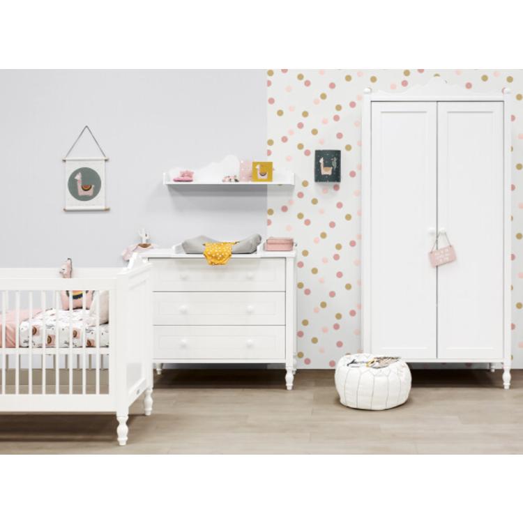 Afbeeldingen van Bopita Kinderkamer Belle 3 delige set