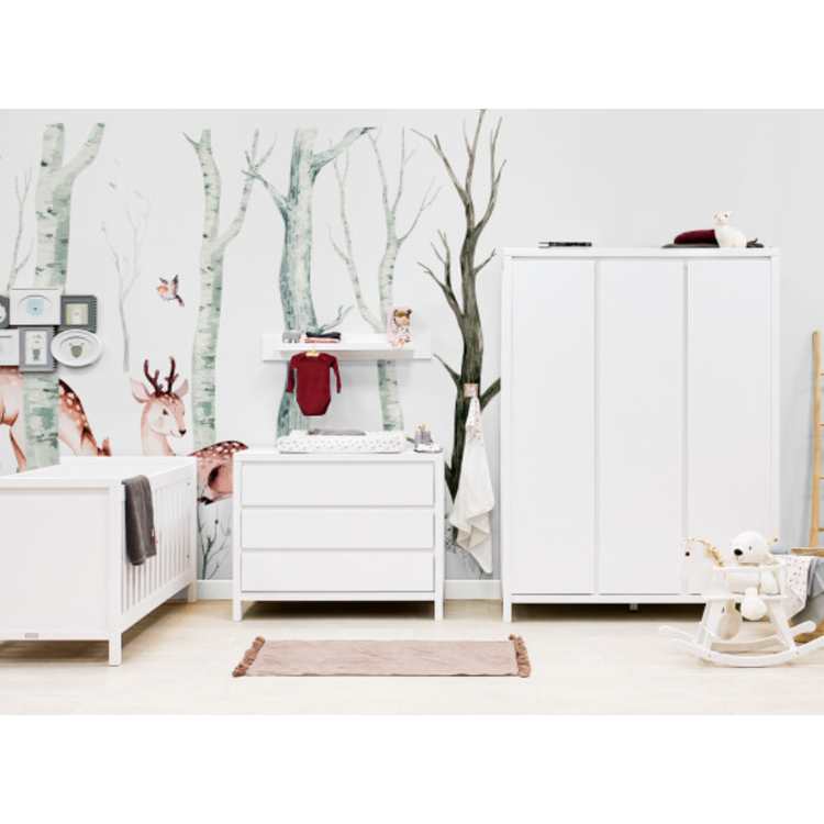 Afbeeldingen van Bopita Kinderkamer Corsica 3 delige set met meegroeibed