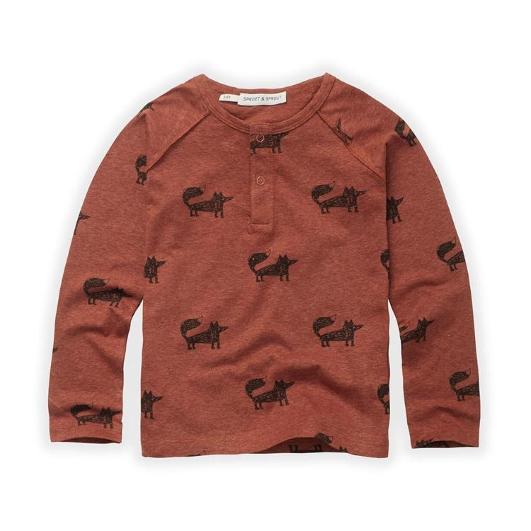 Afbeeldingen van Sproet & Sprout T shirt LM fox print