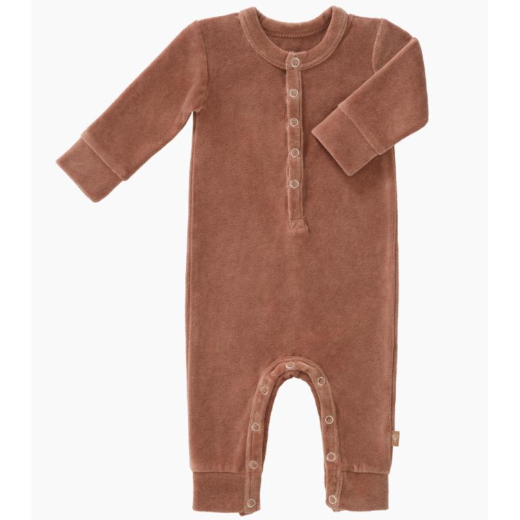 Afbeeldingen van Fresk Pyjama velours Tawny brown