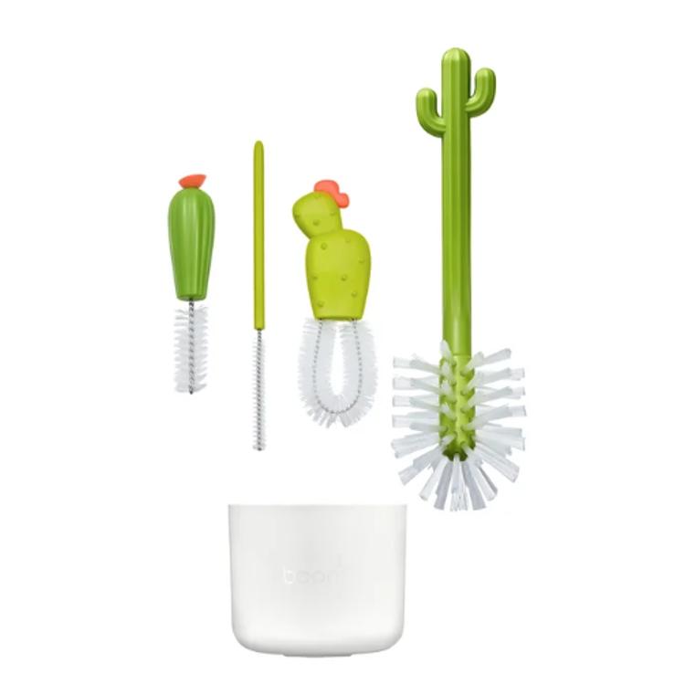 Afbeeldingen van Boon Flessenborstelset cactus