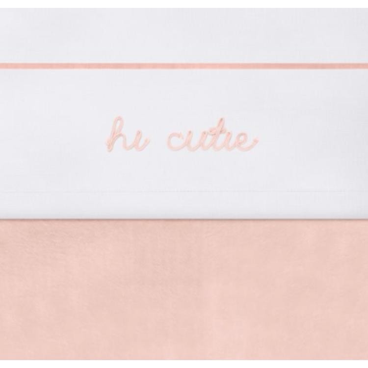 Afbeeldingen van Jollein Laken bed Hi cutie pink