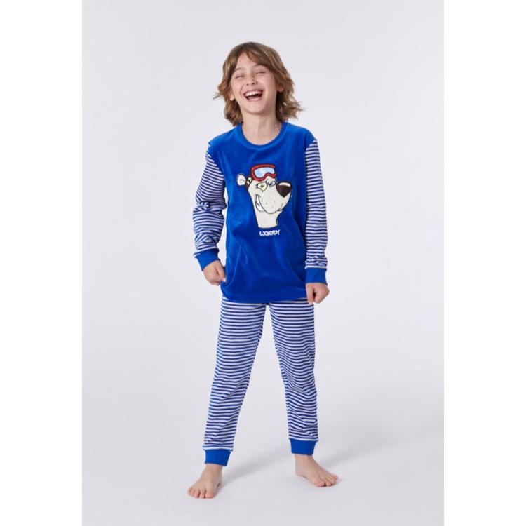 Afbeeldingen van Woody Pyjama ijsbeer velours