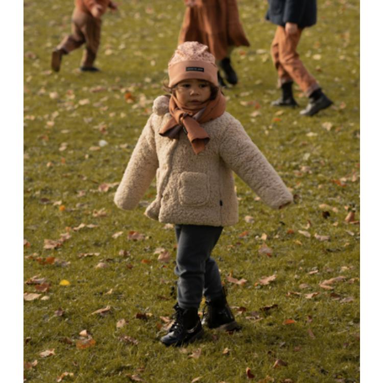 Afbeeldingen van House of Jamie Mantel Teddy beige