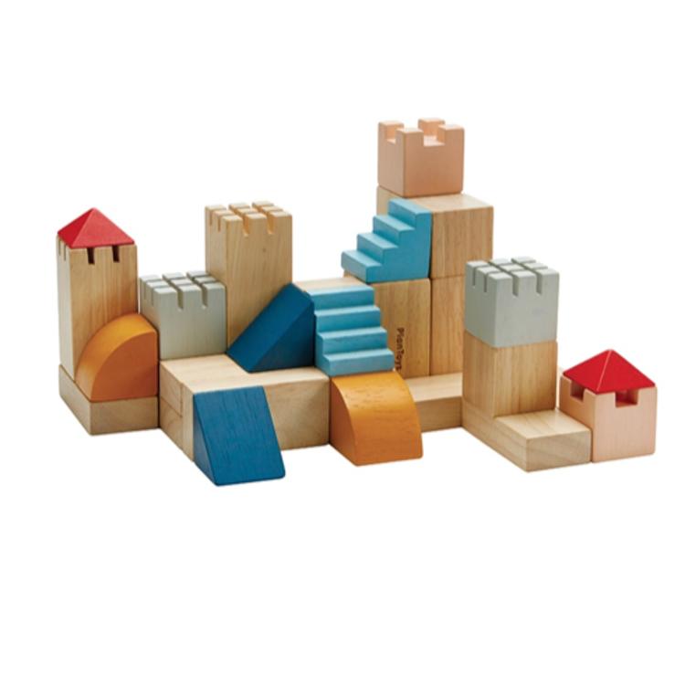 Afbeeldingen van Plan Toys Blokkenset