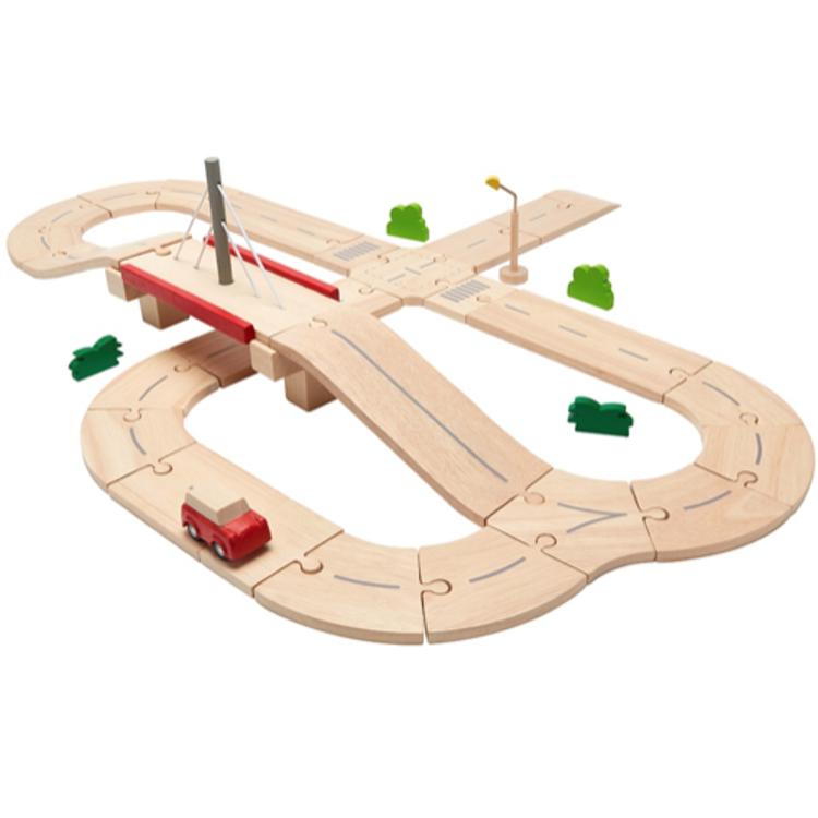 Afbeeldingen van Plan Toys Complete rijbaan